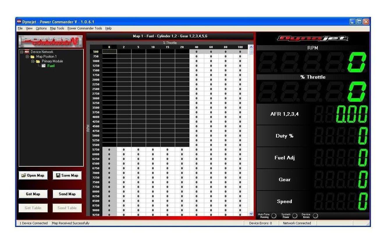 Dynojet Power Commander V EX Fuel & Ignition Yamaha WR250R / WR250X