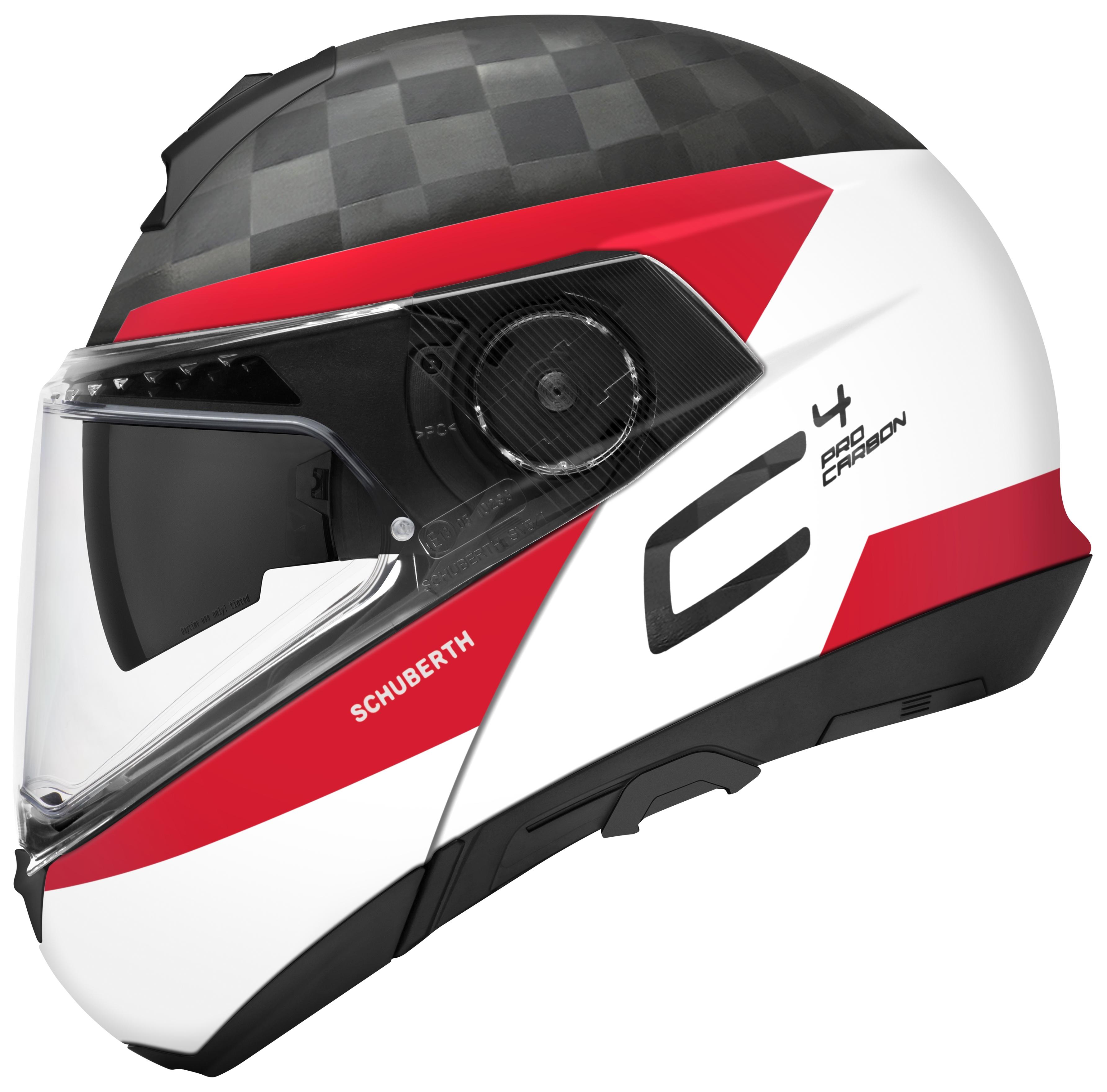 Pro Taper Handlebars >> Schuberth C4 Pro Carbon Delta Helmet - Cycle Gear