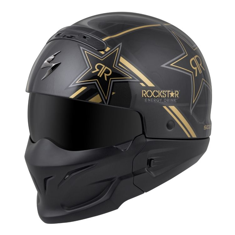 5def5110d190f Scorpion Covert Rockstar Helmet - Cycle Gear