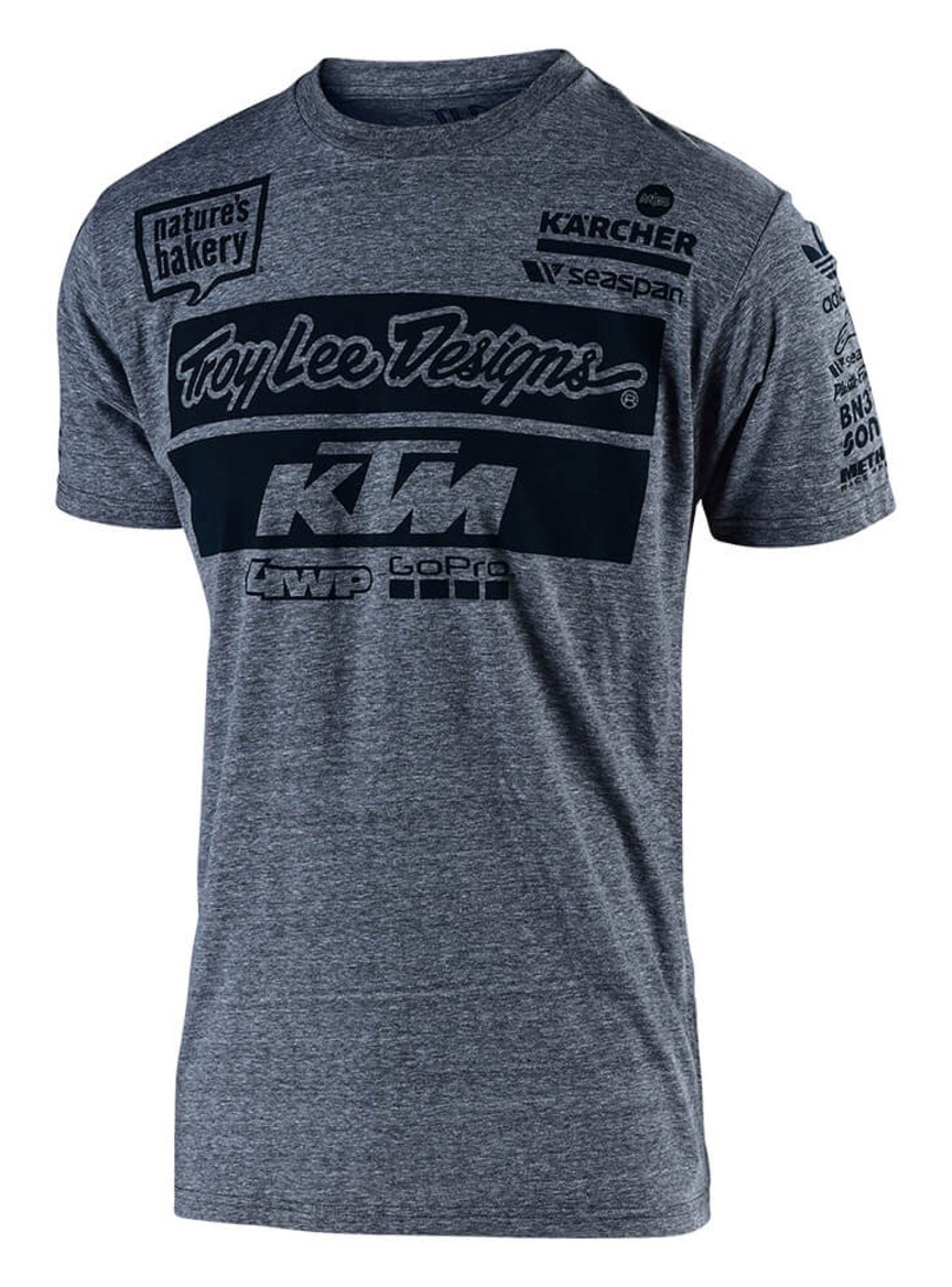 Troy Lee KTM Team Youth T-Shirt - Cycle Gear 1b87d9683bee