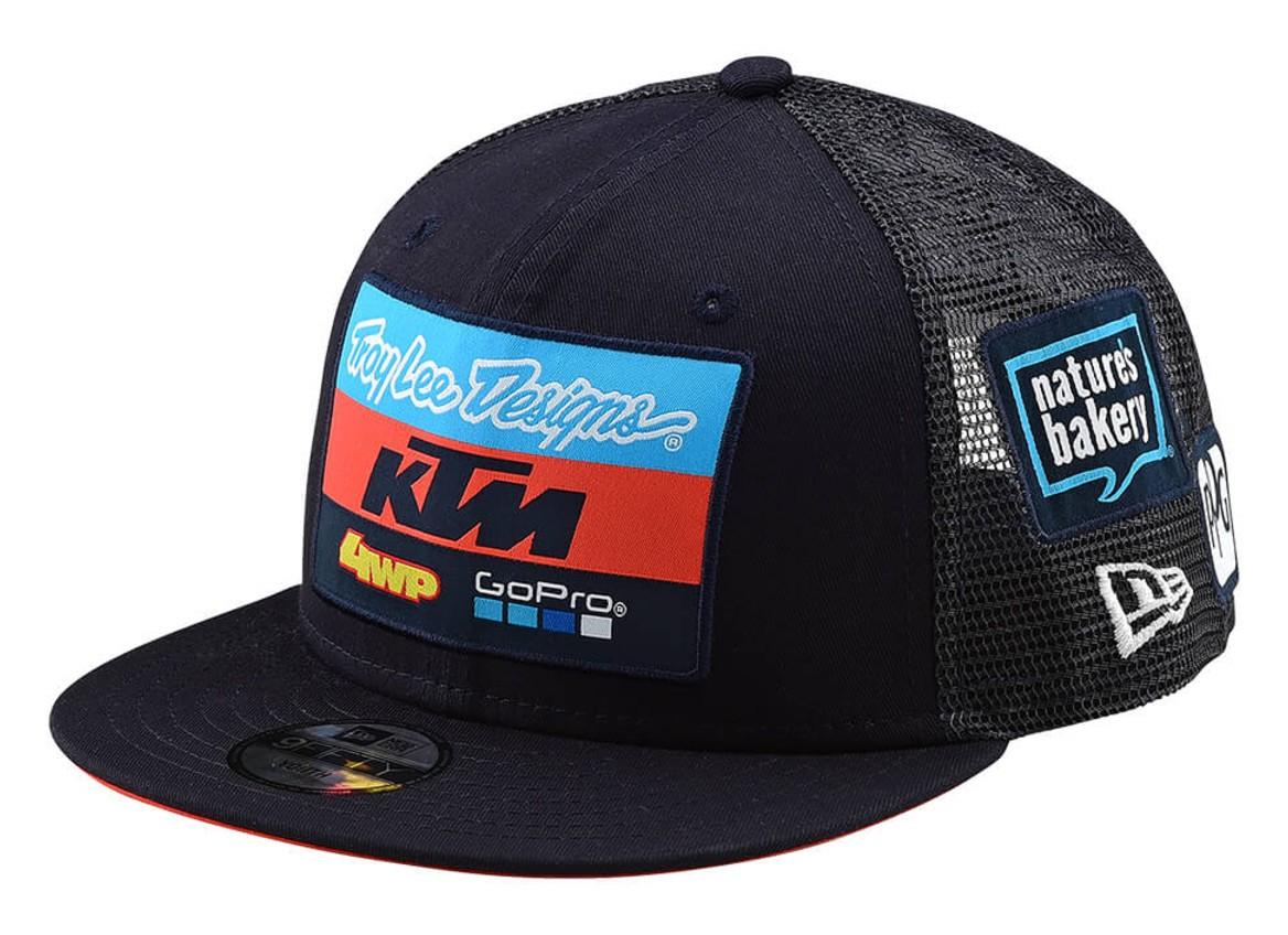 Troy Lee KTM Team Youth Snapback Hat - Cycle Gear 0dc42f4a8c04