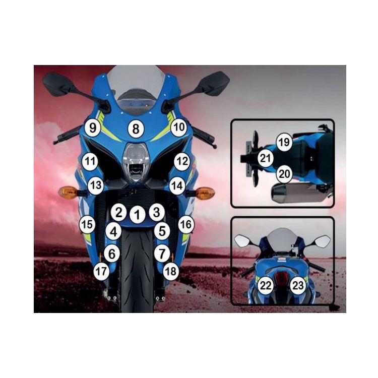 R&G Racing Second Skin Polyurethane Protective Film Suzuki GSX-R1000 / R 2017-2021