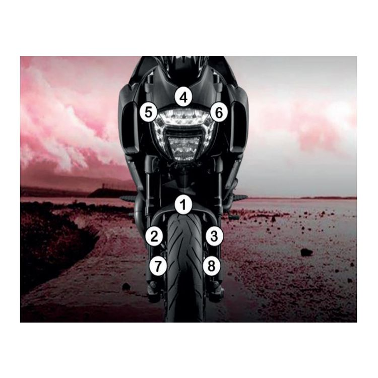R&G Racing Second Skin Polyurethane Protective Film Ducati Diavel 2015-2018