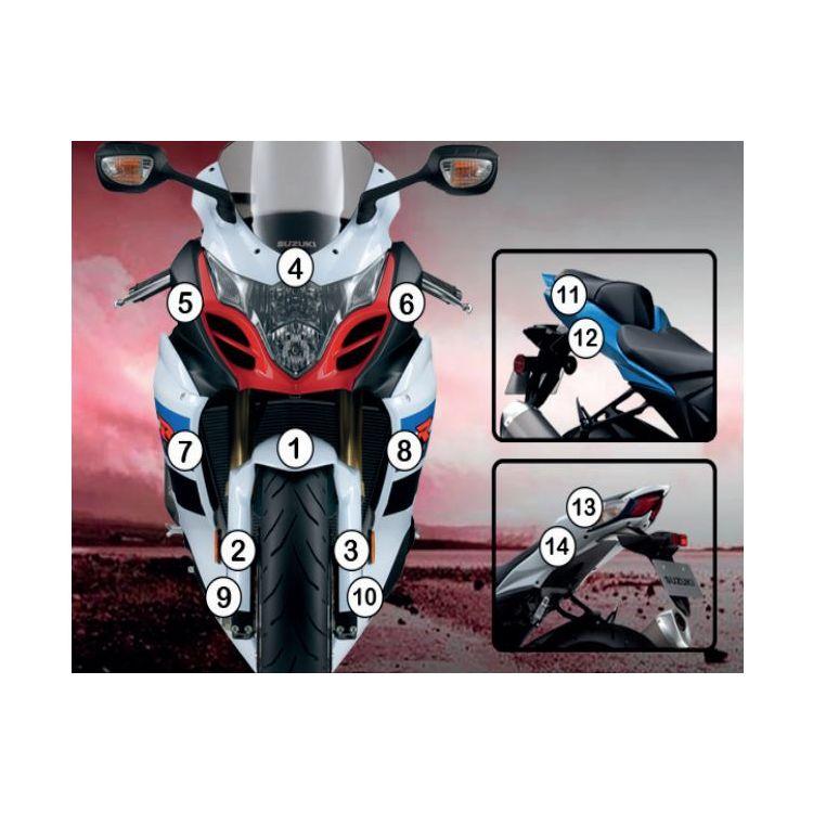 R&G Racing Second Skin Polyurethane Protective Film Suzuki GSX-R1000 2009-2016