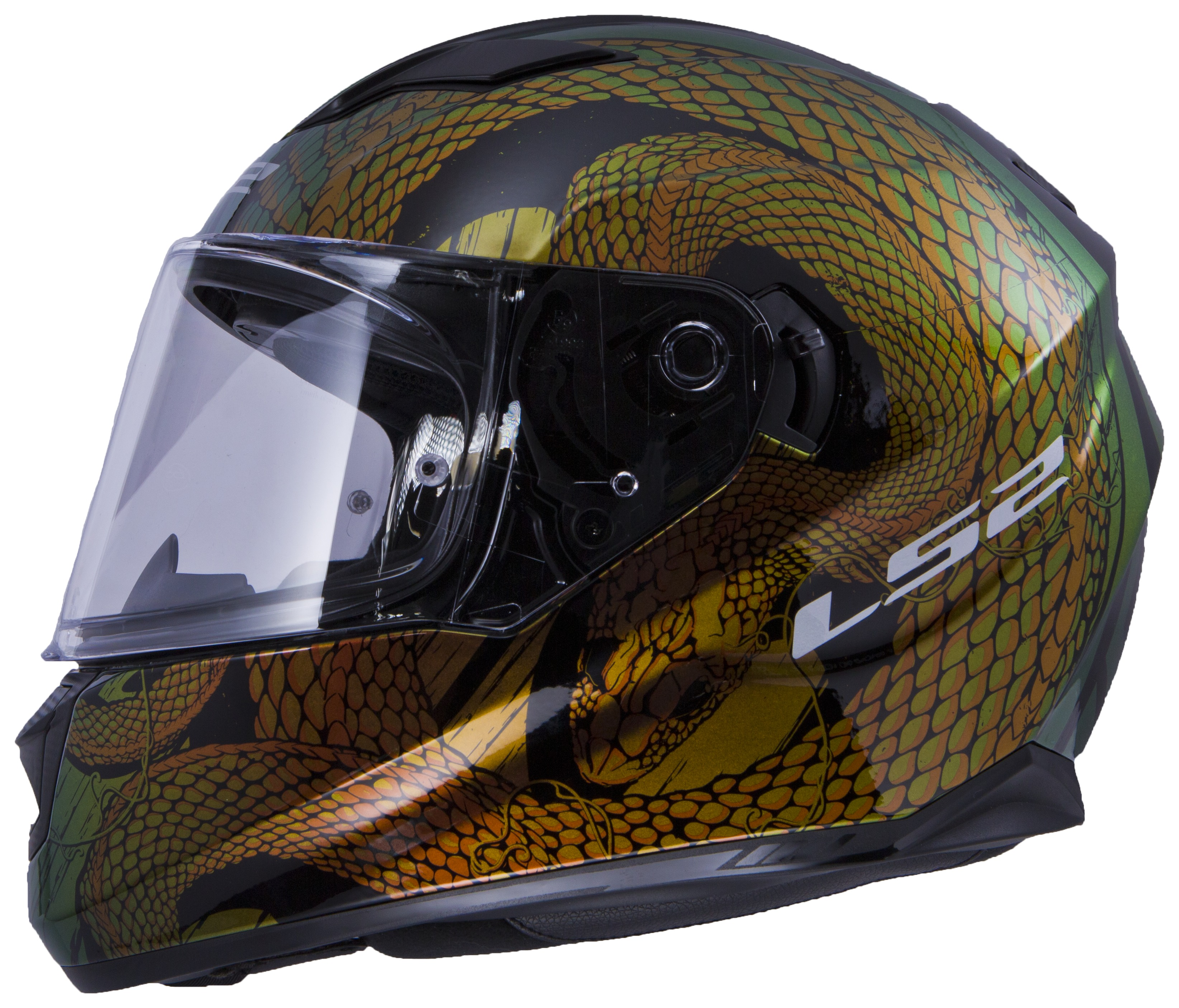 Bell Full Face Helmet >> LS2 Stream Snake Helmet - Cycle Gear