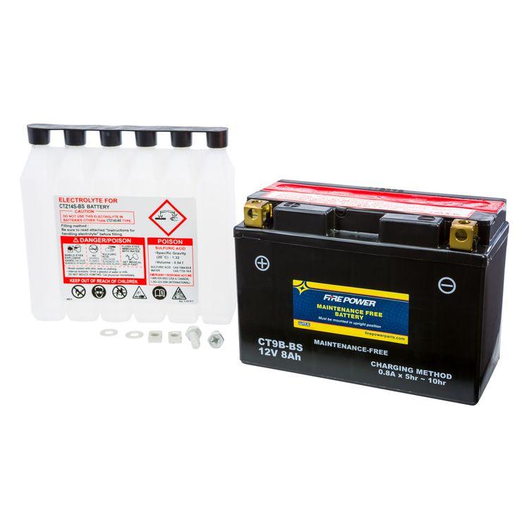 Fire Power Maintenance Free Battery CT9B-BS