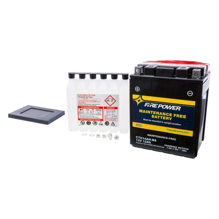 Fire Power Maintenance Free Battery CTX14AH-BS
