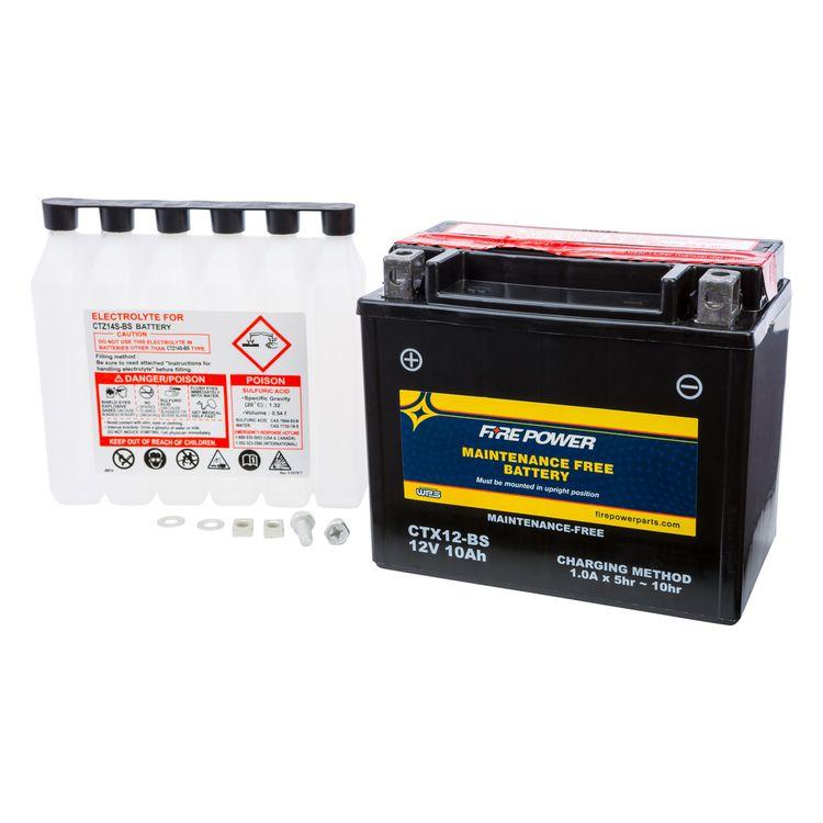 Fire Power Maintenance Free Battery CTX12-BS