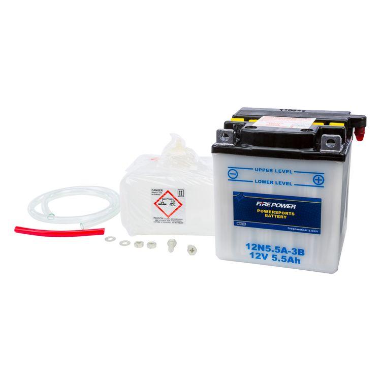 Fire Power Conventional Battery 12N5.5A-3B