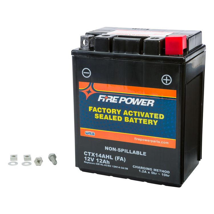 Fire Power Factory Activated Battery CTX14AHL/CB14L-A2