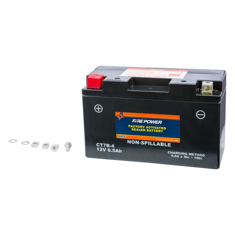 Fire Power Factory Activated Battery CT7B-4