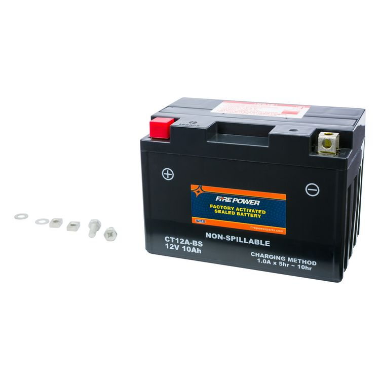 Fire Power Factory Activated Battery CT12A-BS