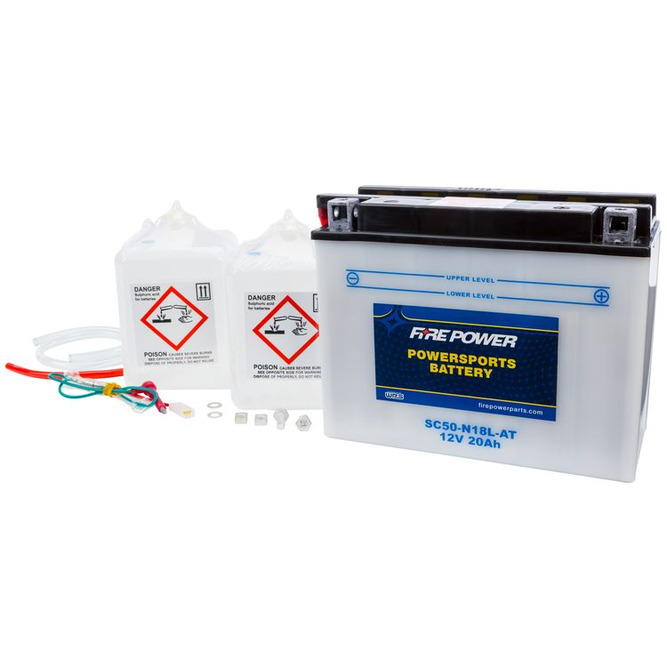 Fire Power Conventional Battery SC50-N18L-AT