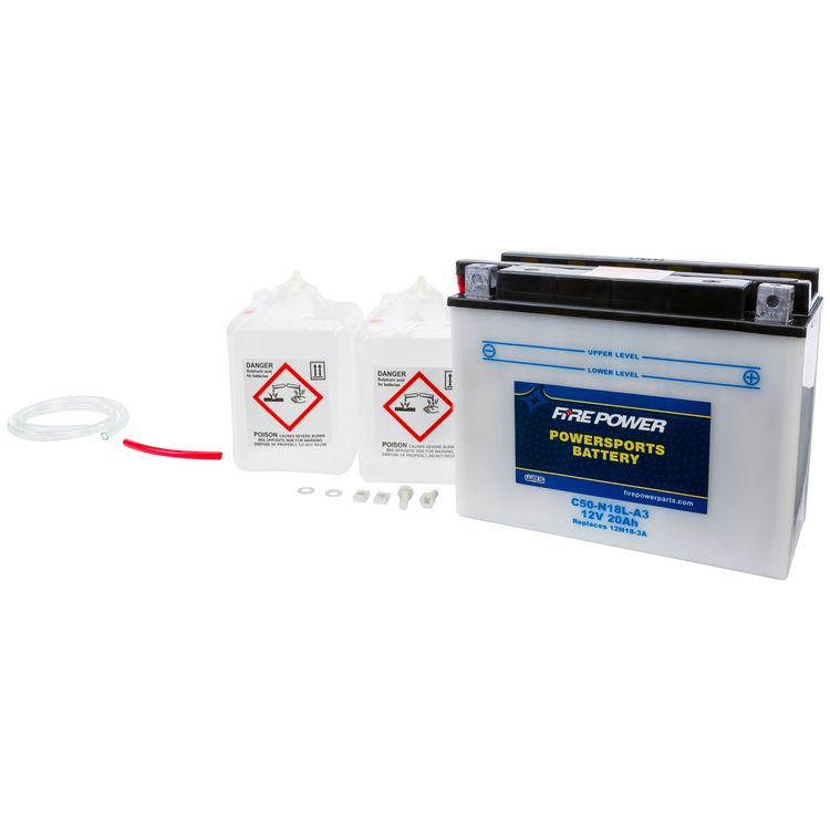 Fire Power Conventional Battery C50-N18L-A3