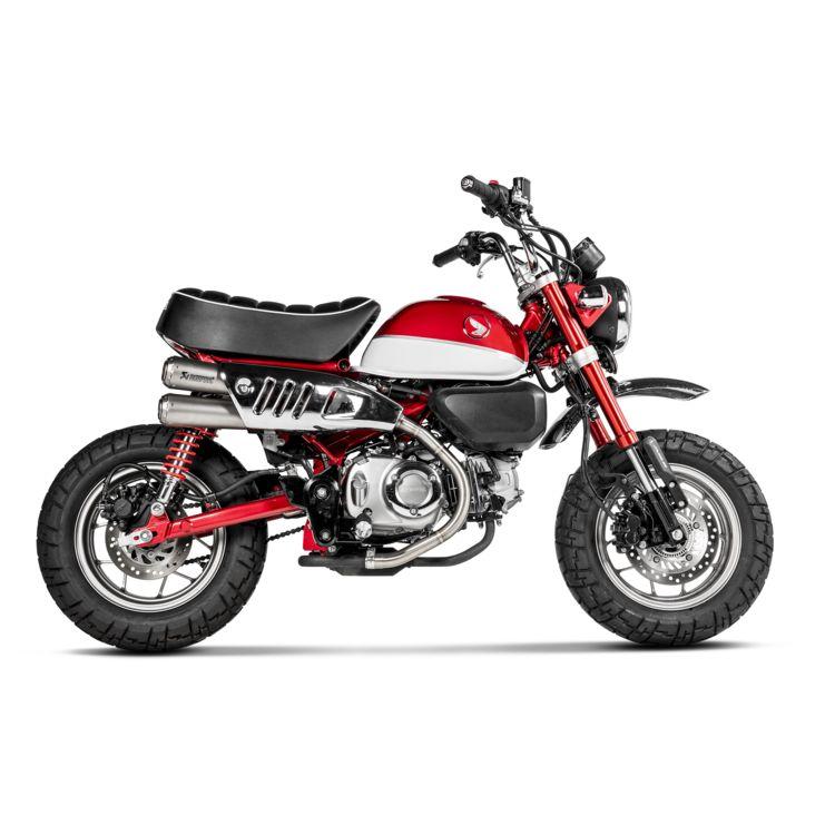 Akrapovic Gp Slip On Exhaust Honda Monkey 2019 Cycle Gear