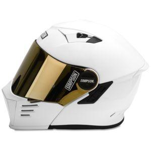 Simpson 89105MA Light Smoke Outlaw Bandit Shield Xs//S