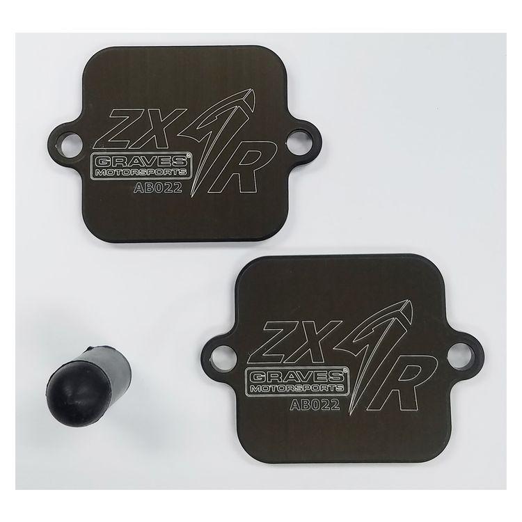 Graves Block Off Plates Kawasaki ZX6R / ZX636 2019