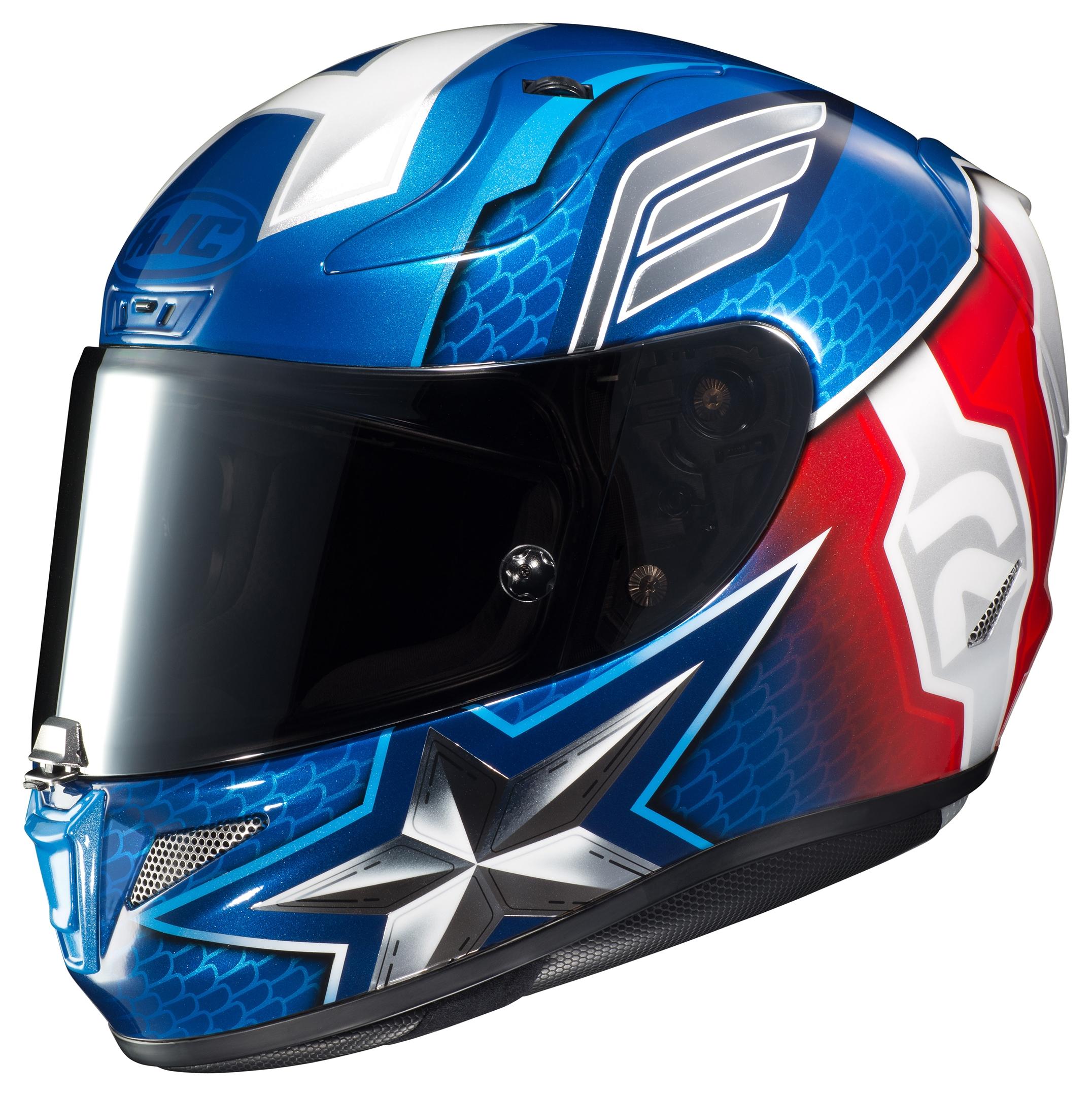 Hjc Rpha 11 >> HJC RPHA 11 Pro Captain America Helmet - Cycle Gear