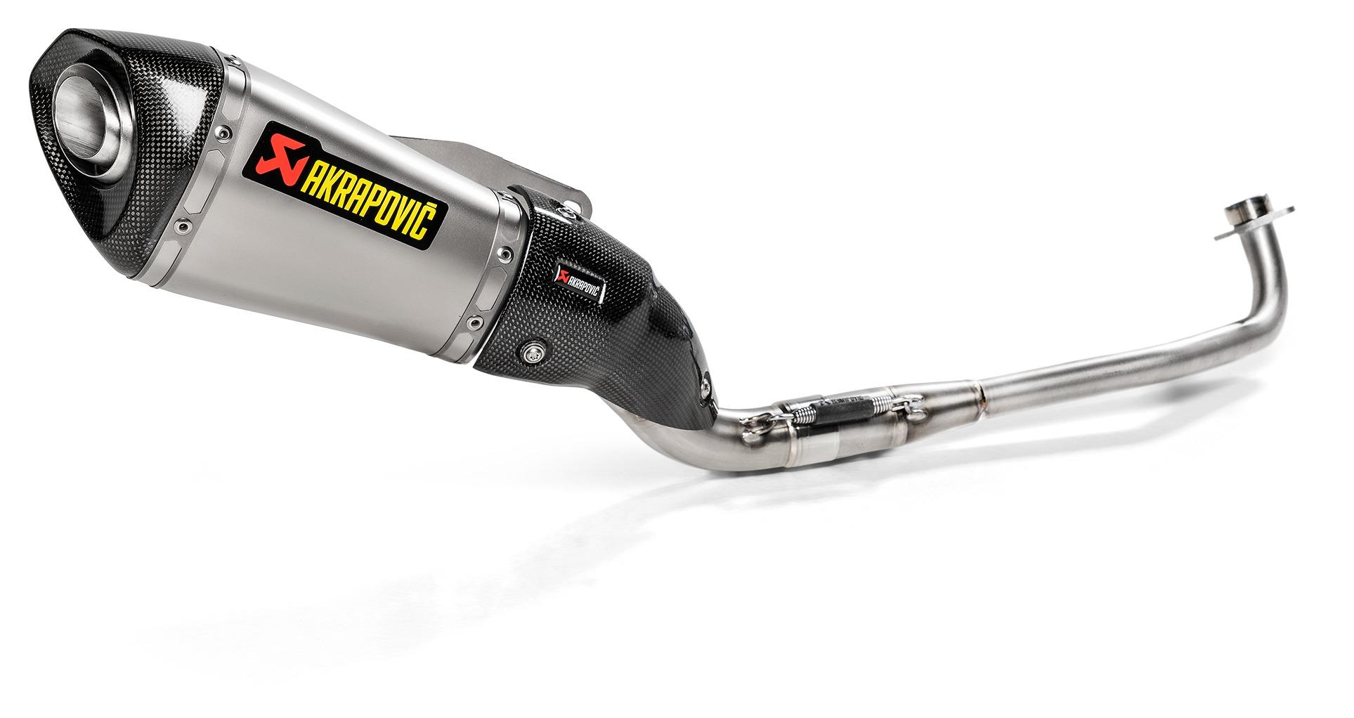 Akrapovic Racing Exhaust System Honda Grom 2017-2019