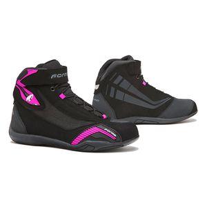 TCX Rush Waterproof Womens Street Motorcycle Shoes US 6.5 Black//Fuchsia//EU 38