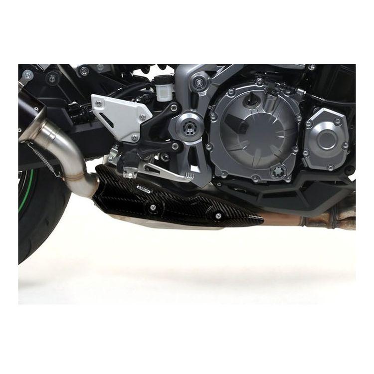Arrow Carbon Fiber Heat Shield Kawasaki Z900 2017-2021