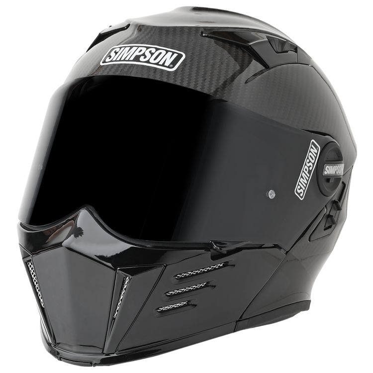 Bell Racing Helmets >> Simpson Mod Bandit Carbon Helmet - Cycle Gear