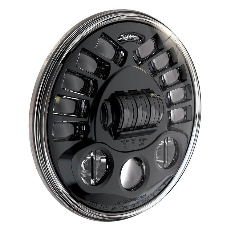 Motodemic Single Adaptive LED Headlight Conversion Kit Triumph Street Triple / R 2012