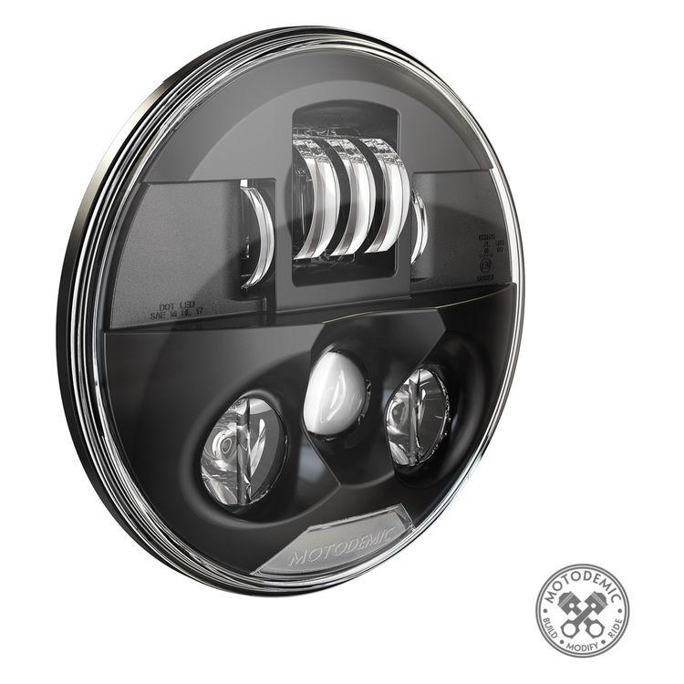 Motodemic Single LED Headlight Conversion Kit Triumph Street Triple 675 / R 2012