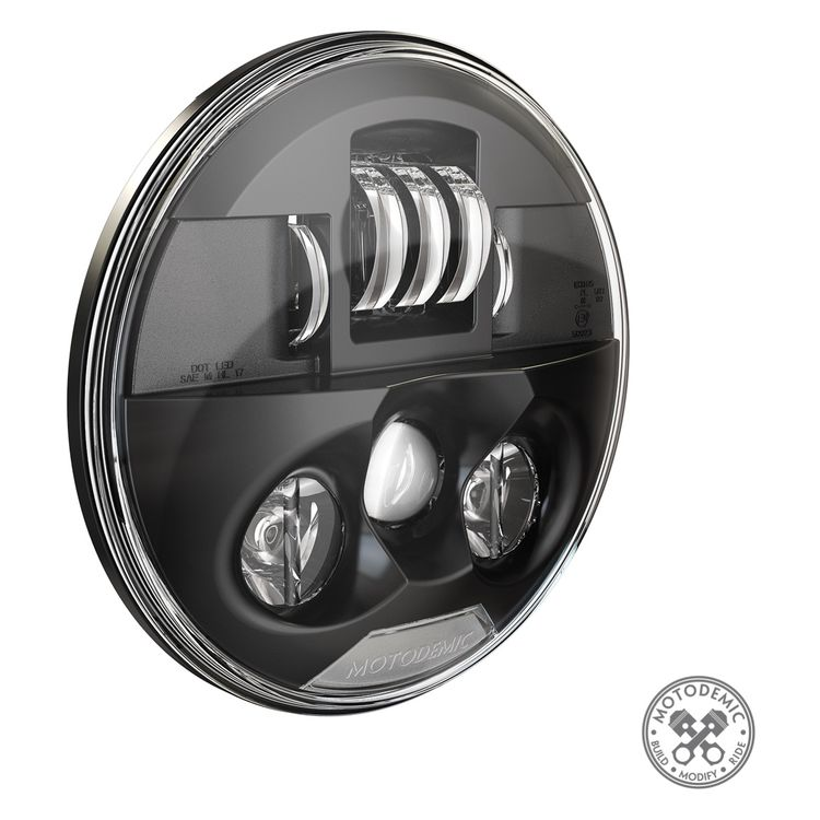 Motodemic Single LED Headlight Conversion Kit Triumph Speed Triple  / R 2011-2015