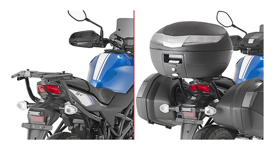 Bell Full Face Helmet >> Givi 3111FZ Top Case Support Brackets Suzuki SV650 / X ...