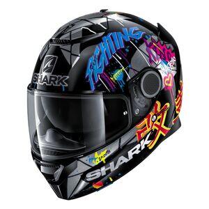 a7f1b22b Pre-Order Shark Spartan Lorenzo Catalunya GP 2018 Replica Helmet