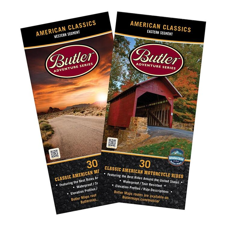 Butler Maps American Classics