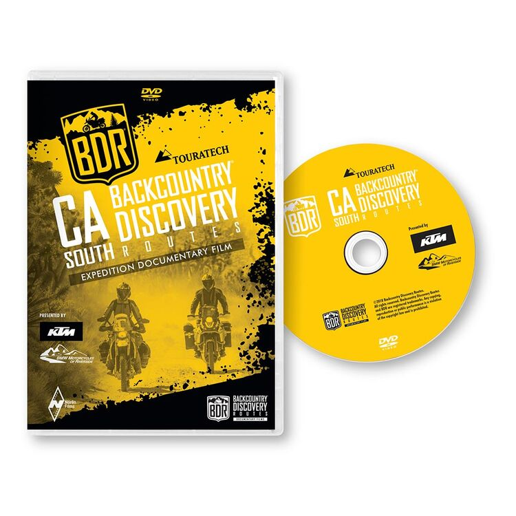 Butler Maps California-South Backcountry DVD