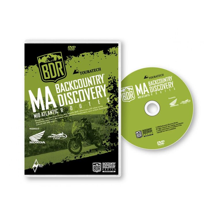 Butler Maps Mid-Atlantic Backcountry DVD