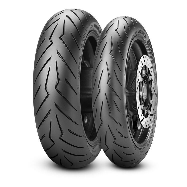 Pirelli Diablo Rosso Scooter Tires