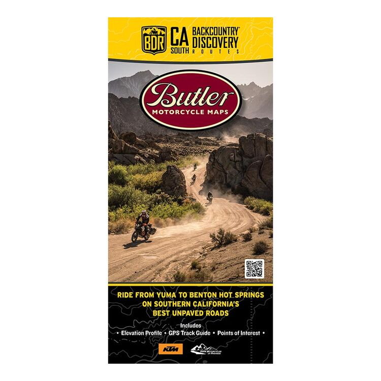 Butler Maps California-South Backcountry Discovery Route