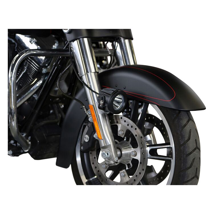 Denali Auxiliary Light Mount Harley Sportster / Softail / Touring 1998-2021