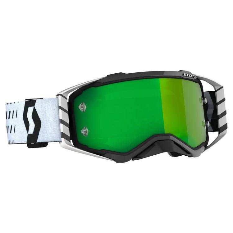 Black/White/Green Chrome