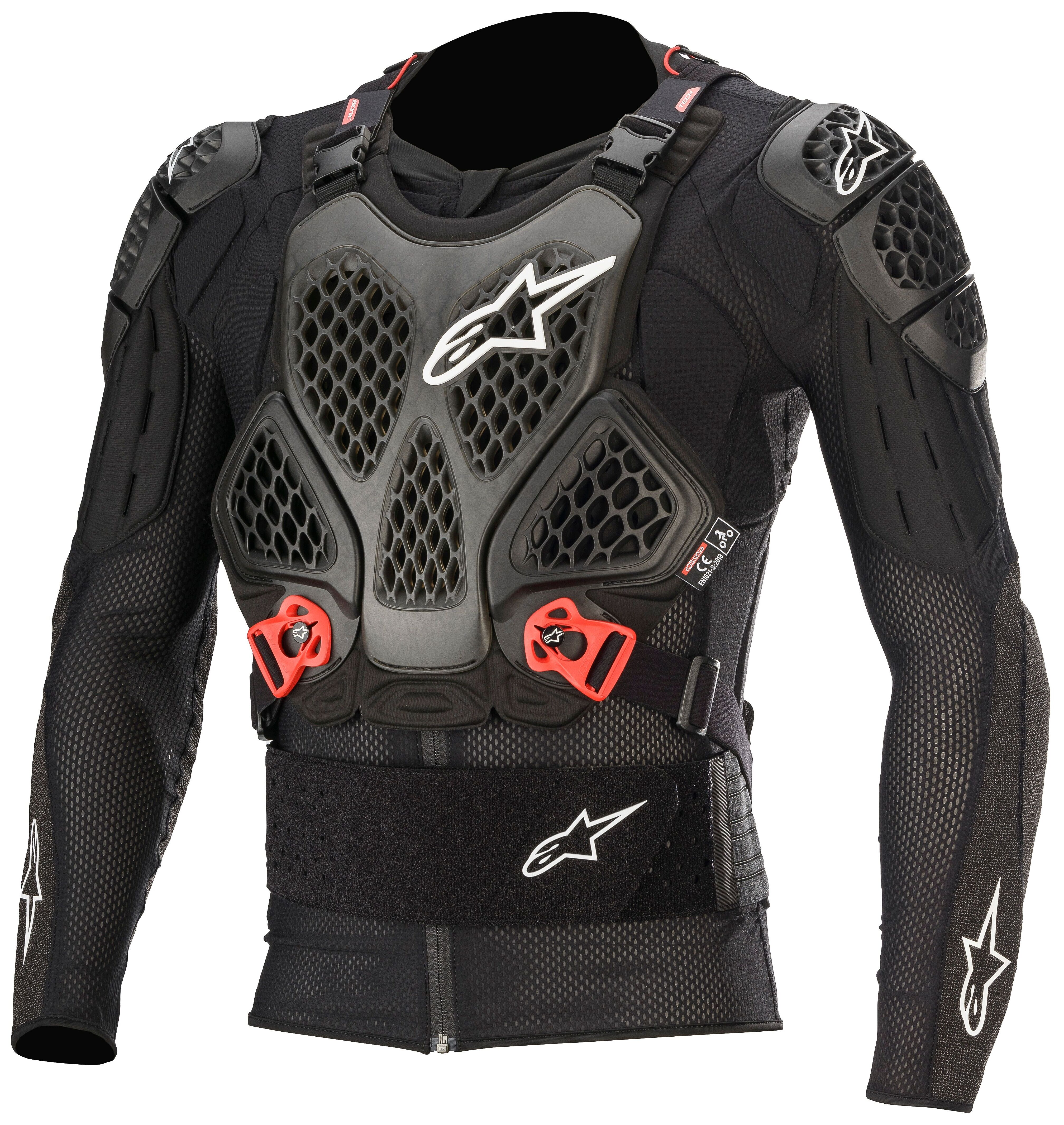 RED ALL SIZES NEW ALPINESTARS COMP PRO MOTOCROSS MX PROTECTIVE SHORTS BLACK