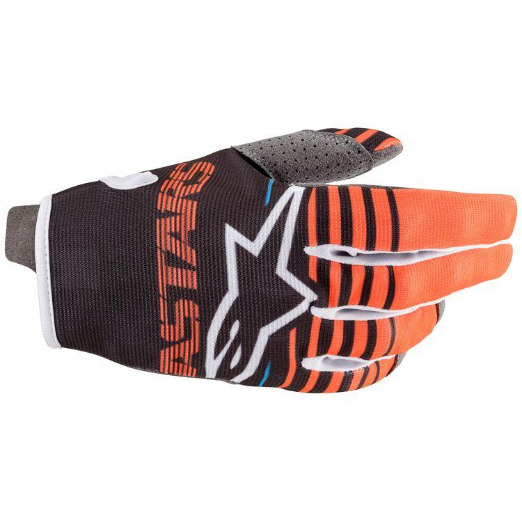 Alpinestars Youth Radar Gloves (Black/White - MD)