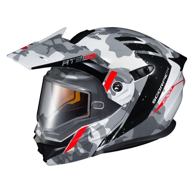 Scorpion AT950 Helmet X-Large Teton Orange//Grey