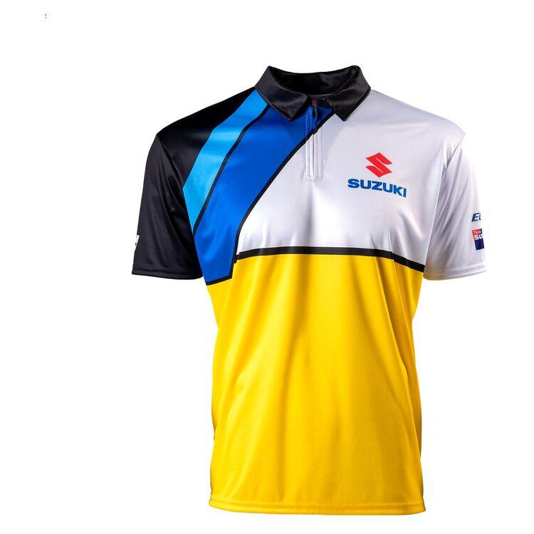 Yellow/Blue/White