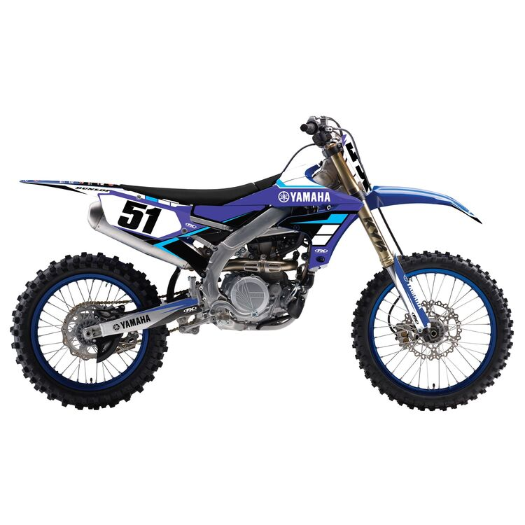 Factory Effex EVO 17 Shroud / Airbox Graphics Kit Yamaha YZ-F / FX / WR-F 250cc-450cc 2018-2020