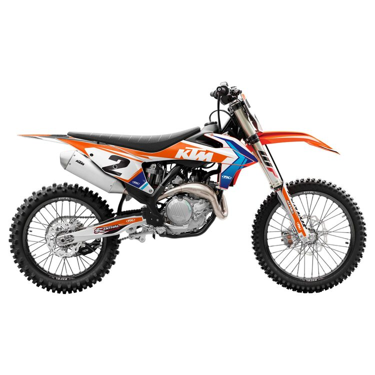 Factory Effex EVO 17 Shroud / Airbox Graphics Kit KTM 65 SX 2009-2015