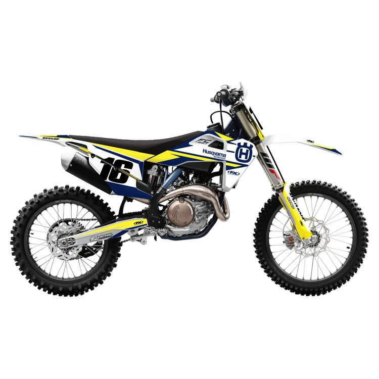 Factory Effex EVO 17 Shroud / Airbox Graphics Kit Husqvarna TC 50 2017-2020
