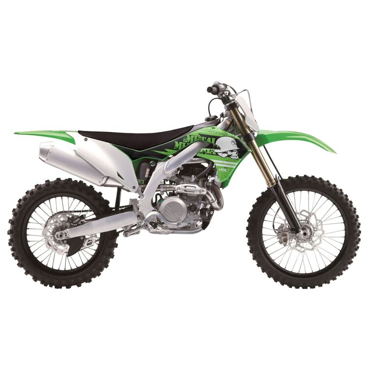Factory Effex Metal Mulisha Shroud / Airbox Graphics Kit Kawasaki KX450F 2009-2011