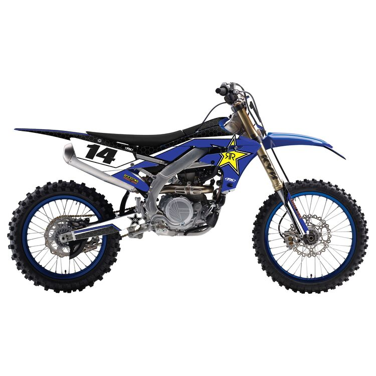 Factory Effex Rockstar Shroud / Airbox Graphics Kit Yamaha YZ125 / YZ250 2002-2014