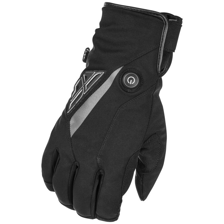 Fly Racing Snow Title Heated Gloves