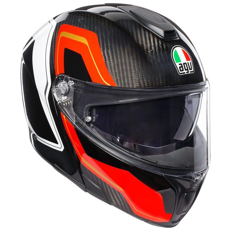 Agv Sportmodular Carbon Sharp Helmet Cycle Gear