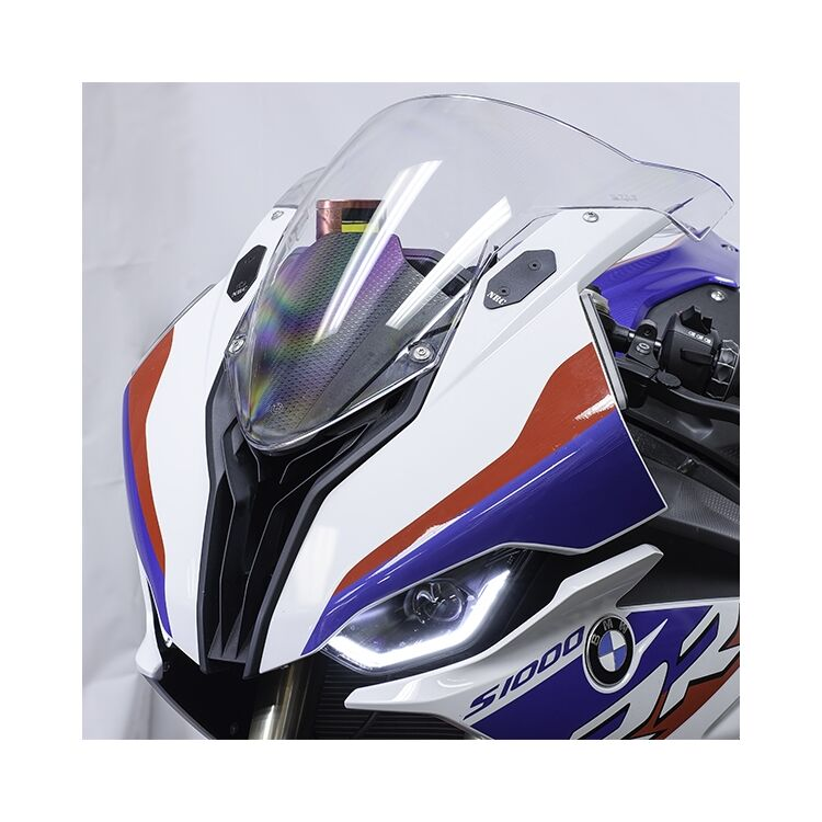 New Rage Cycles Mirror Block Off Plates BMW S1000RR 2020-2021